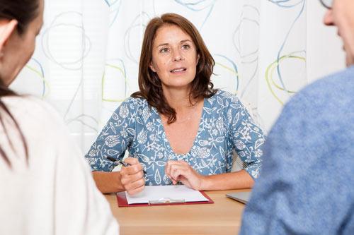 Beratungsgespräch Verena Eicher